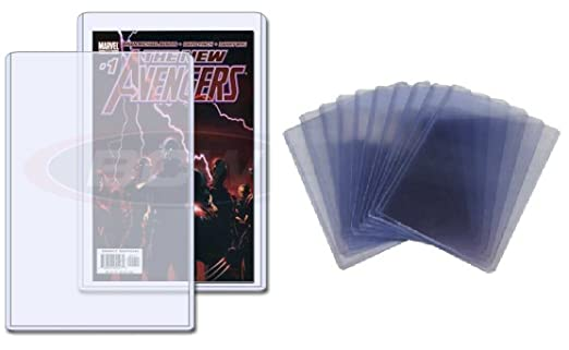 Lot of 20 BCW 7.5 x 11 x 5 mm - Comic Book Size Topload Holders toploaders