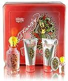 Ed Hardy Villain Women Gift Set (Eau de Parfum, Eau de Parfum, Lotion, Shower Gel, Tattoo Design)