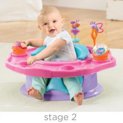 Revolving Chair For Baby Grey Bedroom Uk Amazon Summer Infant 3 Stage Superseat Positioner