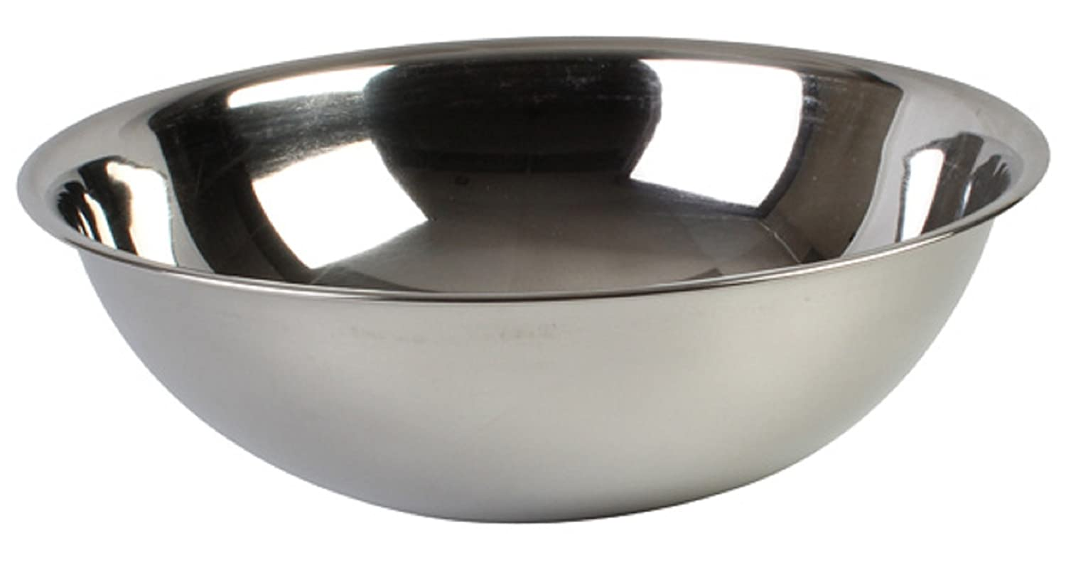 MIXING BOWLS ECONOMY STAINLESS STEEL MIXING BOWL SIZE (30