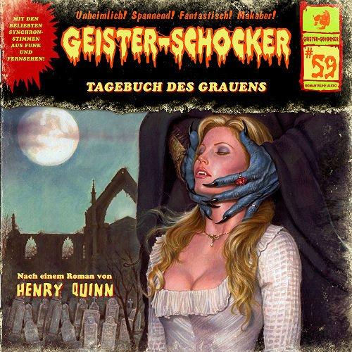 Geister-Schocker (59) Tagebuch des Grauens - Romantruhe Audio 2015