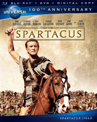 Spartacus (Blu-ray + DVD + Digital Copy)