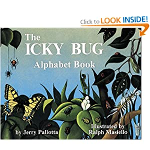 The Icky Bug Alphabet Book (Jerry Pallotta's Alphabet Books)