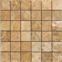 Epoch Tile EL2X2 2x2 Emperador Light Pol/Tumbled Marble ...