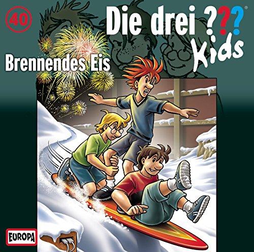 Die drei ??? Kids (40) Brennendes Eis (Europa)