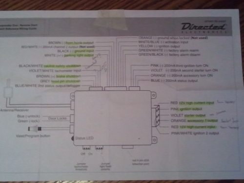Directed Electronics 556u Wiring Diagram Directed Electronics