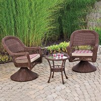WILSON & FISHER OUTDOOR PATIO FURNITURE SET INDOOR/OUTDOOR ...