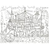 Amazon.com: Really Giant Posters Medieval Castle Coloring