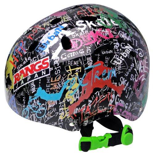 ラングスジャパン (RANGS) アクティブスポーツヘルメット ブラック