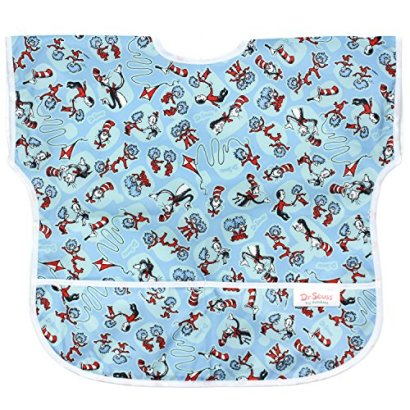 Bumkins-Waterproof-Junior-Bib-Seuss-Cat-in-the-Hat-1-3-Years