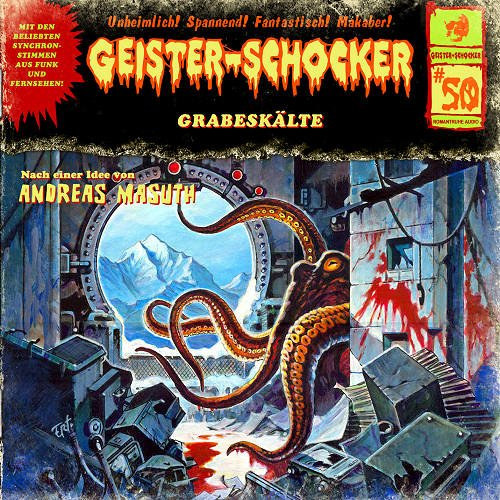 Geister-Schocker (50) Grabeskälte (Romantruhe Audio)