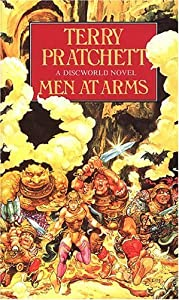 "Cover of ""MEN AT ARMS (DISCWORLD)"""