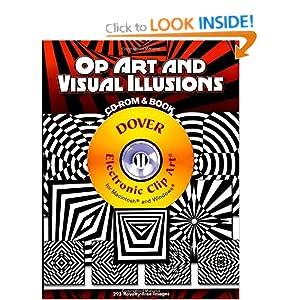 Op Art and Visual Illusions (CD Rom & Book)
