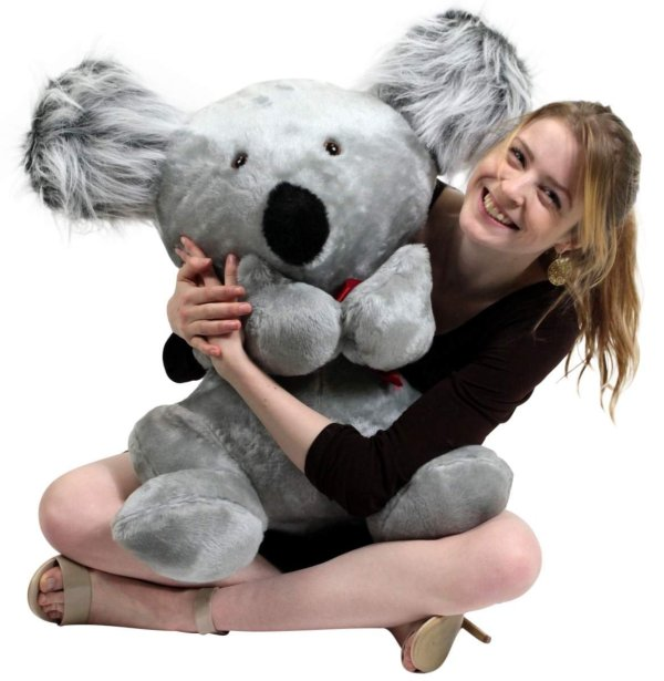 American Large Stuffed Koala Bear 26 Inches Soft Big