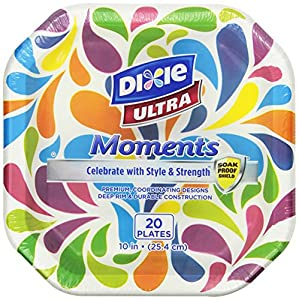 Amazoncom Dixie Ultra Moments Plates 10 Inch 120 Count