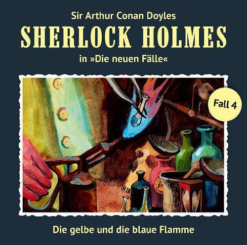 Sherlock Holmes - neue Fälle (4) Die gelbe und die blaue Flamme (Romantruhe Audio)
