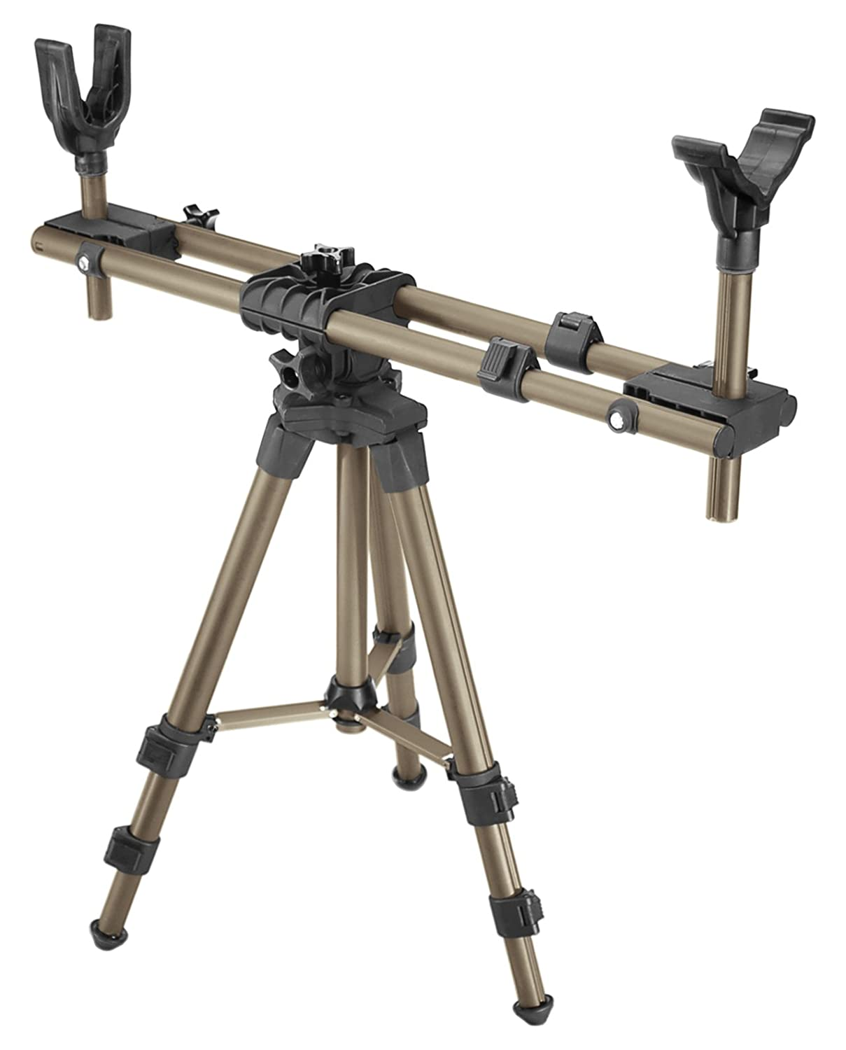 high chair deer stand used kitchen chairs caldwell deadshot fieldpod shooting tripod adjustable