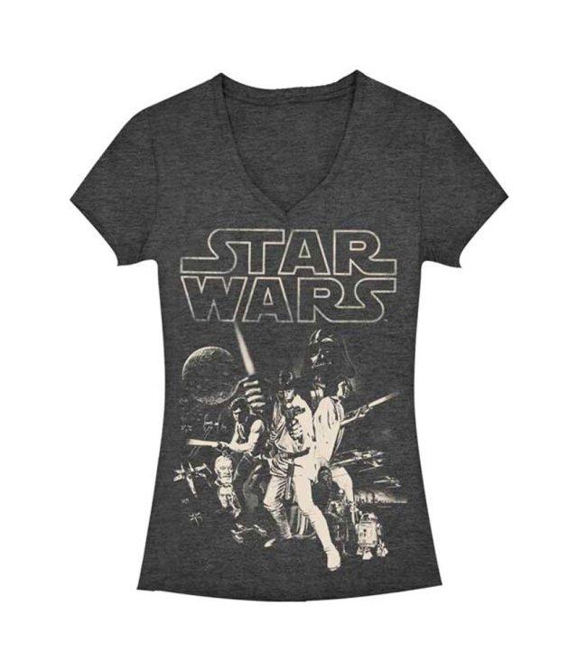 Charcoal Heather Juniors T-shirt