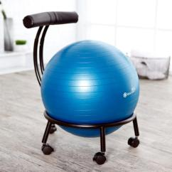 Amazon Gym Ball Chair Rustic Rail Ideas Gaiam Custom Fit Adjustable Balance