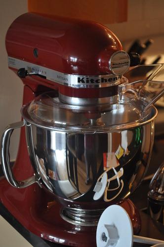 kitchen aid standing mixer marble countertops amazon.com: kitchenaid ksm150psgc 5-qt. artisan series ...