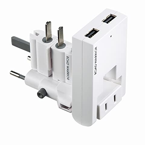 サンワサプライ スイングUSB充電タップ ホワイト TR-AD2USBW