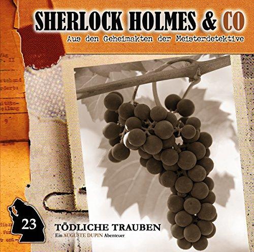 Sherlock Holmes & Co (23) Tödliche Trauben - Romantruhe Audio 2016