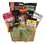 Keep Calm & Snack Right - Snack Basket Full of Premium Healthy Snacks