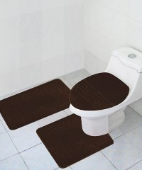 "3 Piece Bath Rug Set Pattern Bathroom Rug (20""x32"")/large"