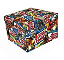 Superman Action Comics Large Collapsible Storage Box