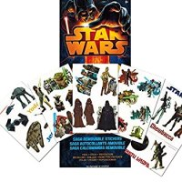 Star Wars Wall Decals ~ 110 Removable Wall Stickers (Glow ...