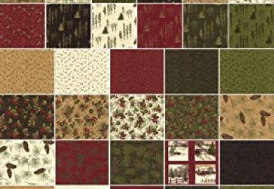 Through The Winter Woods Fabric Collection