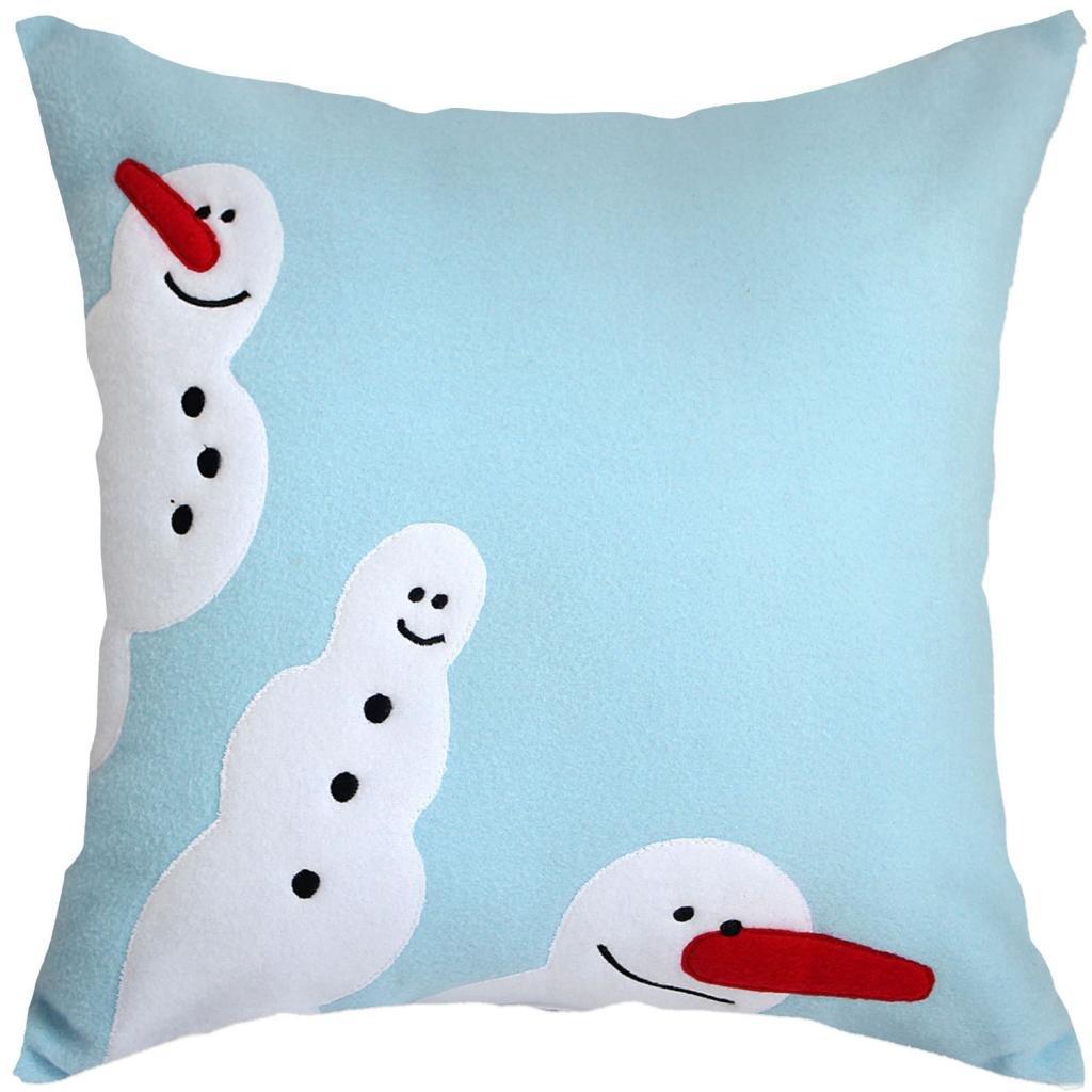Snowman Throw Pillows Page Two  Christmas Wikii