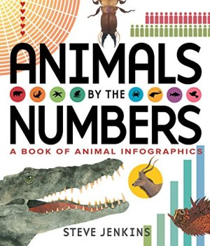 Animals by the Numbers: A Book of Infographics by Steve Jenkins | Featured Book of the Day | wearewordnerds.com