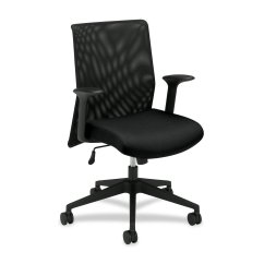 Hon Desk Chairs Fully Adjustable Ergonomic Office Chair Hvl571 Mid Back Mesh For Or Computer