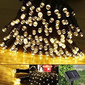 Le® Solar Fairy String Lights 100 Leds 55ft 17m