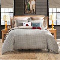 LOVO Michelle Reversible 100% Cotton 4-Piece Bedding Set ...