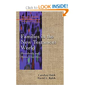 Families in the New Testament World: Households and House Churches (Family, Religion, and Culture)