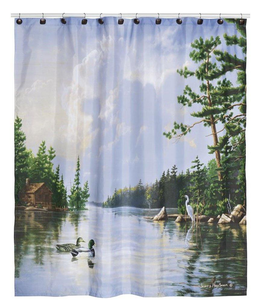 Wildlife Shower Curtains Everything Log Homes