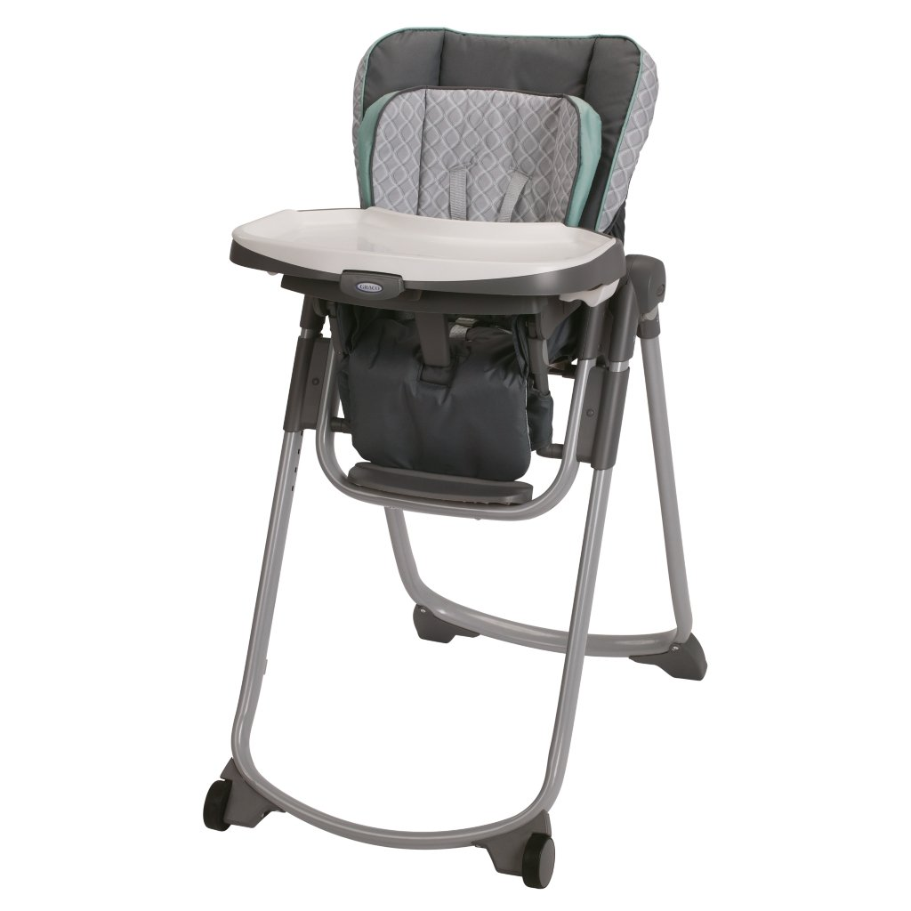 high chair with accessories how to reupholster a recliner graco duodiner lx baby gear and