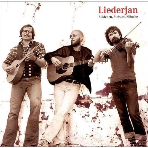 Cover Liederjan, Mädchen, Meister, Mönche, 1998