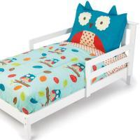 Amazon.com : Skip Hop 4 Piece Toddler Bedding Set, Owl ...