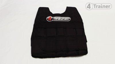 Veste lestée 20 kg 4Trainer - Modèle PRO - Gilet lesté Ajustable - Livraison Offerte