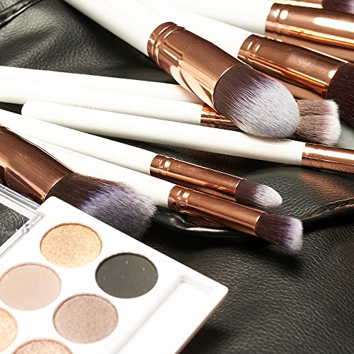 rose gold and black makeup brushes. beauty widgets \u2013 kabuki makeup brush set rose gold and black brushes p