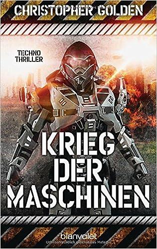 Krieg der Maschinen: Techno-Thriller Book Cover