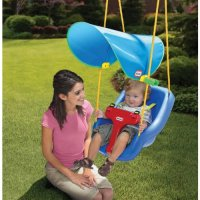 Swing Seat Set Outdoor Playground Infant Toddler Safe ...
