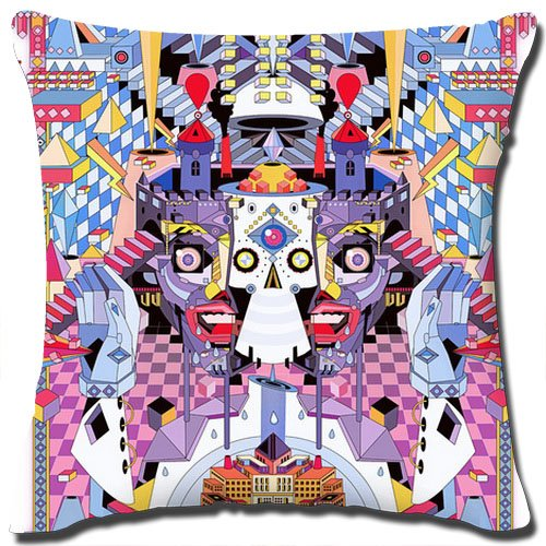 Pop Vector Throw Pillow Cover