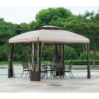 10 x 12 Bay Window Gazebo Replacement Canopy