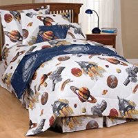 Amazon.com - Kids Outer Space Bedding Sets - Comforter Set ...