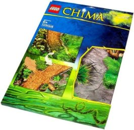 LEGO Legends of Chima Outlands Playmat by Legends of Chima