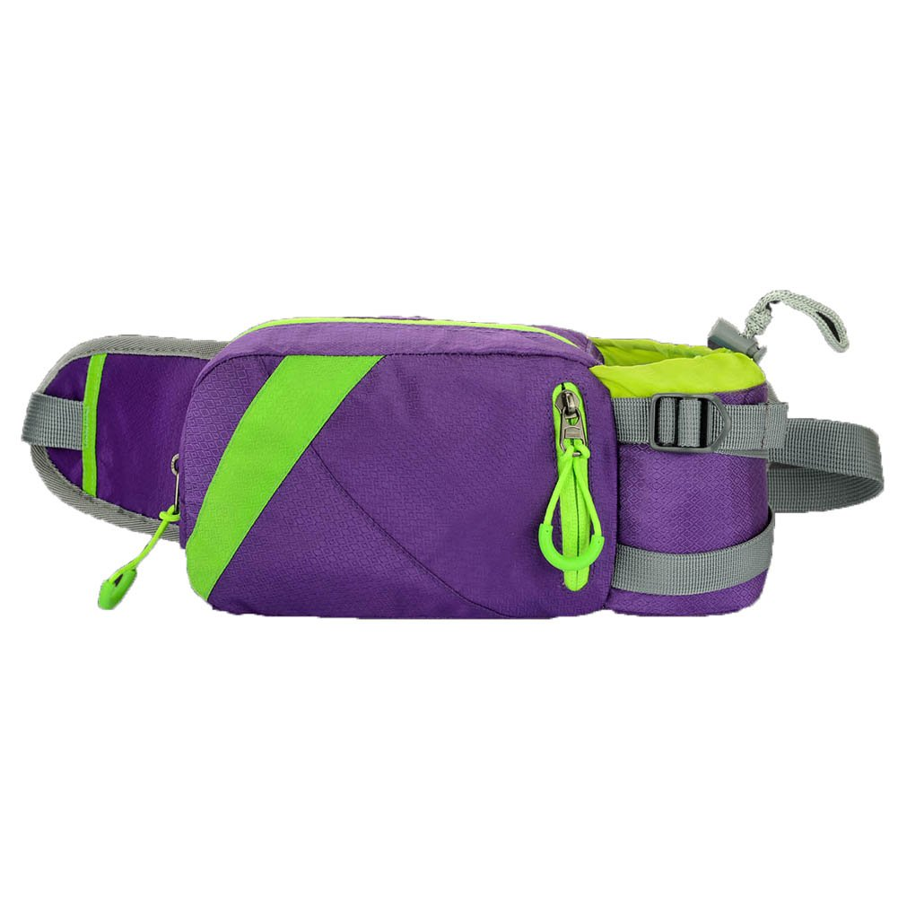 High-Capacity Water Resistan Unisex All Outdoor Sports Waist Pack Bag Bum Water Bottle Holder Great for Hiking and Festivals